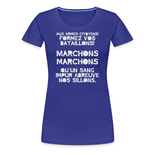 La Marseillaise - France Men's T-shirts - Women's Premium T-Shirt