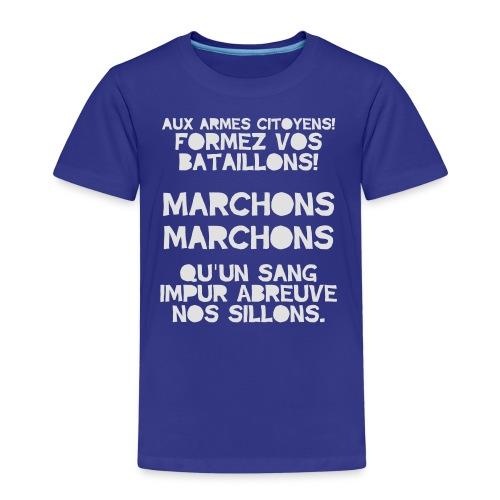 La Marseillaise - France Men's T-shirts - Kids' Premium T-Shirt
