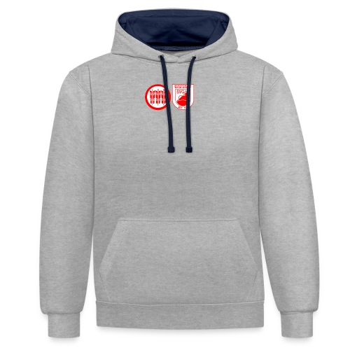 SVG Kirchberg Shirt - Kontrast-Hoodie