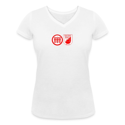 SVG Kirchberg Shirt - Frauen Bio-T-Shirt mit V-Ausschnitt von Stanley & Stella