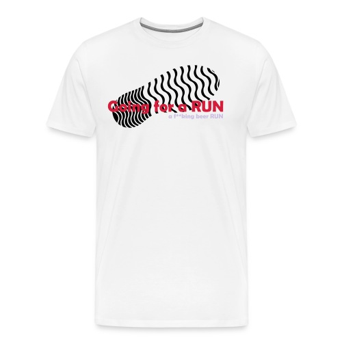 Going for a RUN - Men's Premium T-Shirt