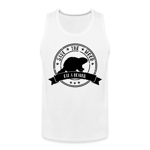 Save the wood - Mannen Premium tank top