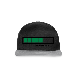 Bonnet bleu - Please wait.. - Casquette snapback