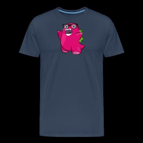 Bozilla - Dino - V-Ausschnitt - Männer Premium T-Shirt