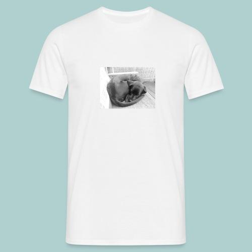 Kaline-Hoodie: Schlafender Hund - Männer T-Shirt