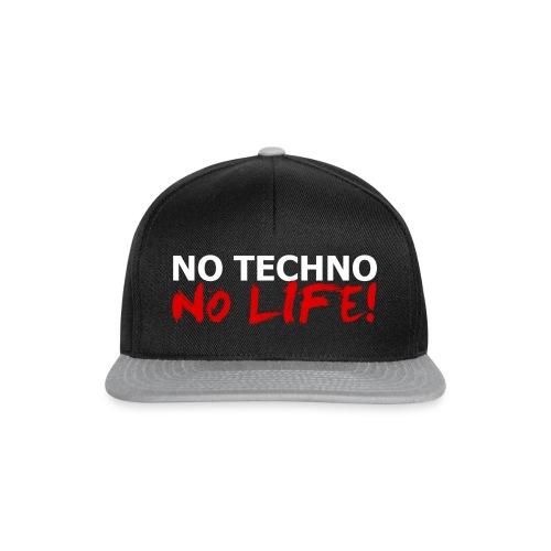 NO TECHNO, NO LIFE! T-Shirt - Snapback Cap