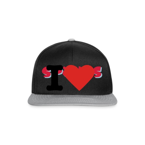 I love Spökes T-Shirt Frauen - Snapback Cap
