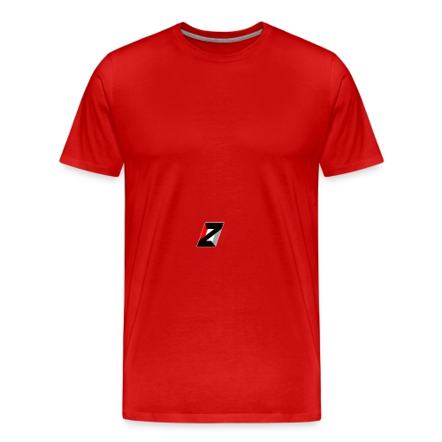 ZERO cap without extra logos  - Men's Premium T-Shirt