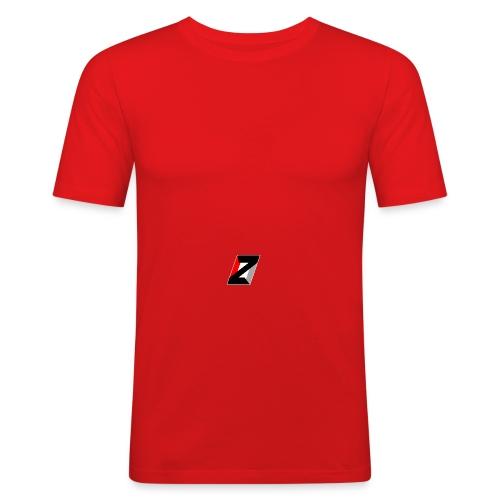 ZERO cap without extra logos  - Men's Slim Fit T-Shirt