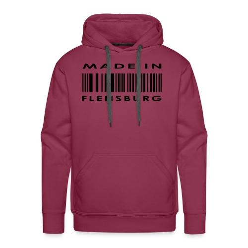 Made in Flensburg -  T Shirt - Männer Premium Hoodie
