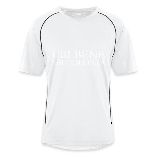 UBI BENE IBI COLONIA (Vintage Weiß) Köln Spruch Römisch - Männer Fußball-Trikot