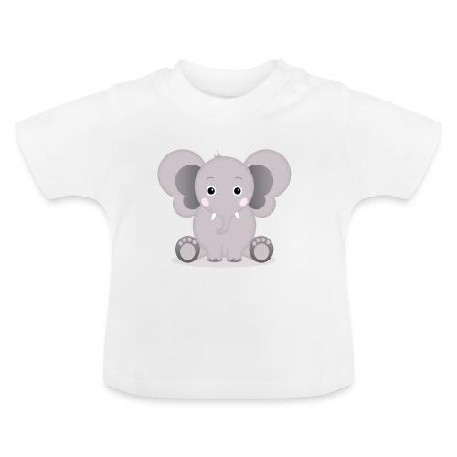 Baby Elefant Elias - Baby T-Shirt