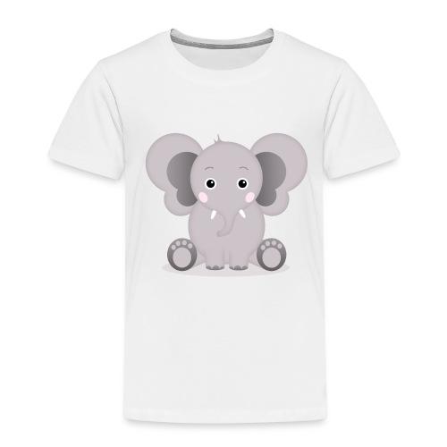 Baby Elefant Elias - Kinder Premium T-Shirt