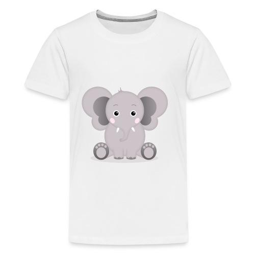 Baby Elefant Elias - Teenager Premium T-Shirt