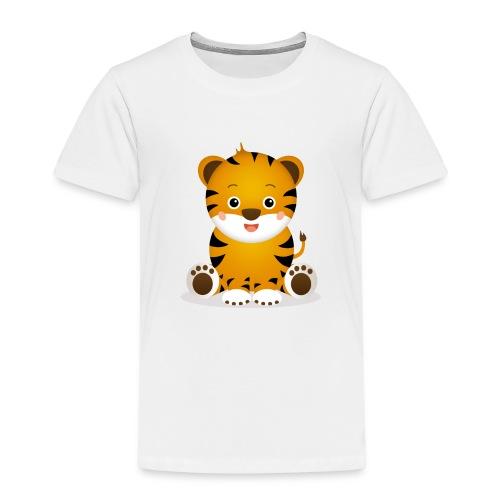 Baby Tiger Tim - Kinder Premium T-Shirt