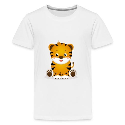 Baby Tiger Tim - Teenager Premium T-Shirt