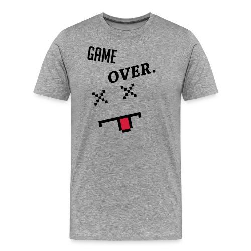 LIMITED EDITION! Game Over Geek Hoodie/Sweater - Men's Premium T-Shirt