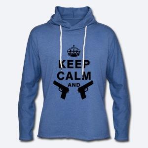 Keep Calm & XxSpeedBullet - Lichte hoodie unisex