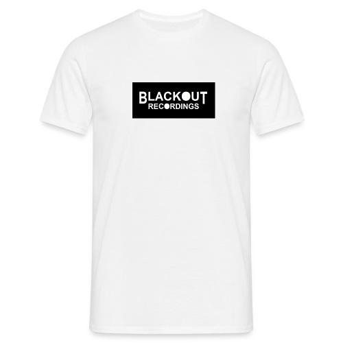 Blackout Recordings Men's Short Sleeved Tee - Men's T-Shirt