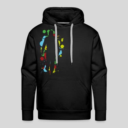 Herren-Premium-Shirt Player Splat - Männer Premium Hoodie