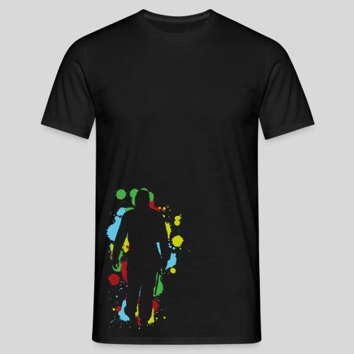 Herren-Premium-Shirt Player Splat - Männer T-Shirt