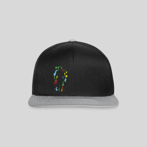 Herren-Premium-Shirt Player Splat - Snapback Cap
