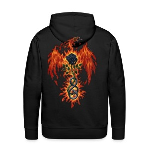 Fire Of The Sages - Men's Premium Hoodie