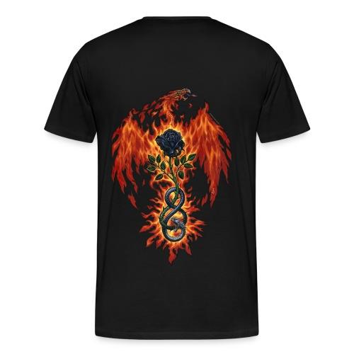 Fire Of The Sages - Men's Premium T-Shirt