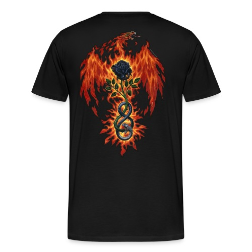 Fire Of The Sages - Men's Premium T-Shirt