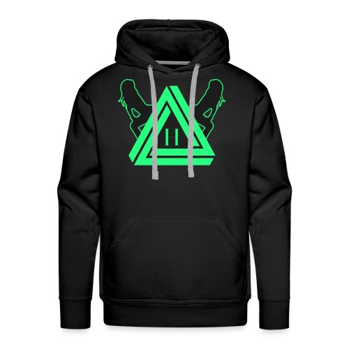 HYVE TRAP BLACC (Shirt) - Männer Premium Hoodie