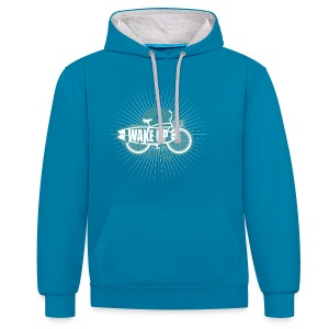 surfbike collection - Contrast Colour Hoodie