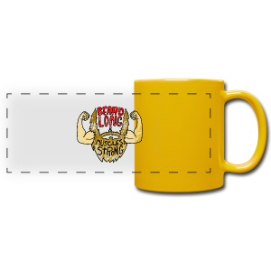 Beard Strong mug - Full Color Panoramic Mug