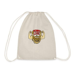 Beard Strong mug - Drawstring Bag