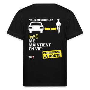 1m50-vie-noir - T-shirt bio Enfant