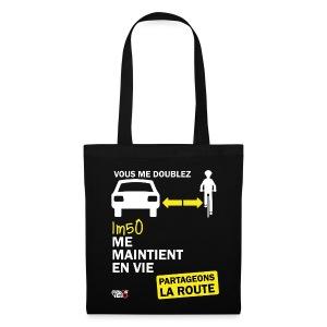 1m50-vie-noir - Tote Bag