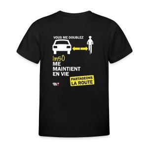 1m50-vie-noir - T-shirt Enfant