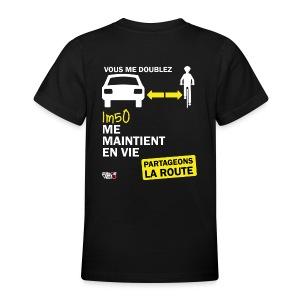 1m50-vie-noir - T-shirt Ado