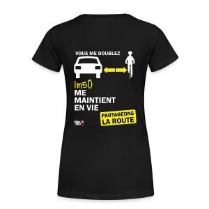 1m50-vie-noir - T-shirt Premium Femme