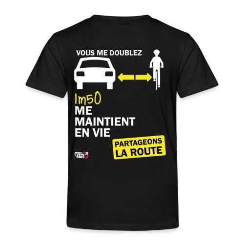 1m50-vie-noir - T-shirt Premium Enfant