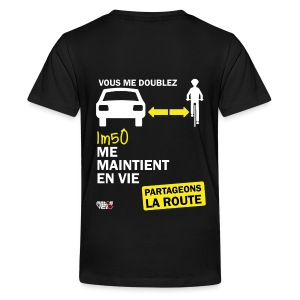 1m50-vie-noir - T-shirt Premium Ado