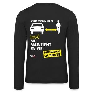 1m50-vie-noir - T-shirt manches longues Premium Enfant