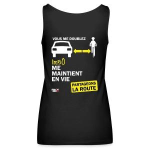 1m50-vie-noir - Débardeur Premium Femme