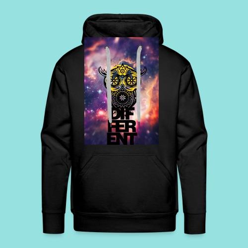 BEDIFFErENT OWL  M - Männer Premium Hoodie