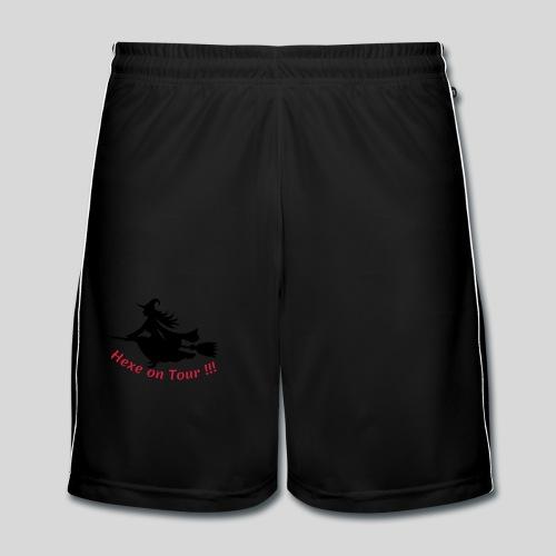 Hexe on Tour !!! - Männer Fußball-Shorts