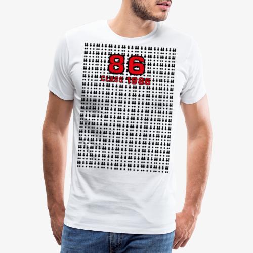 Class 86 - Maglietta Premium da uomo