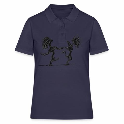 Tanzpaar 8 - Frauen Polo Shirt