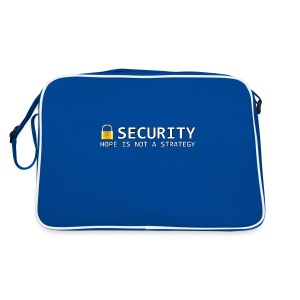 Security - Hope is not a Strategy - Retro Bag