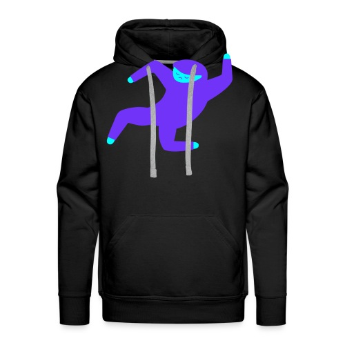 DANZE BLECK - Mannen Premium hoodie