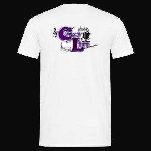 Crazy4Live Shirt - Männer T-Shirt