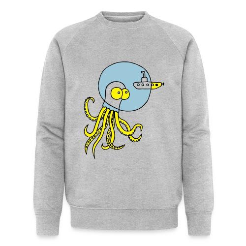 Tintenfisch trifft Uboot, Meer, tauchen, Boot T-Shirts - Männer Bio-Sweatshirt von Stanley & Stella